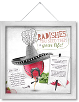 Radishes- you need them in your life
