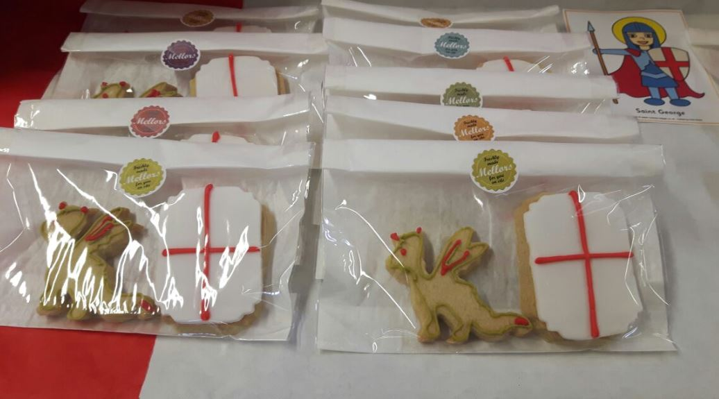 St Georges Day Cookies