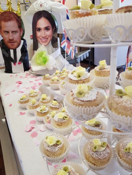 Wedding cupcakes to celebrate the royal wedding!