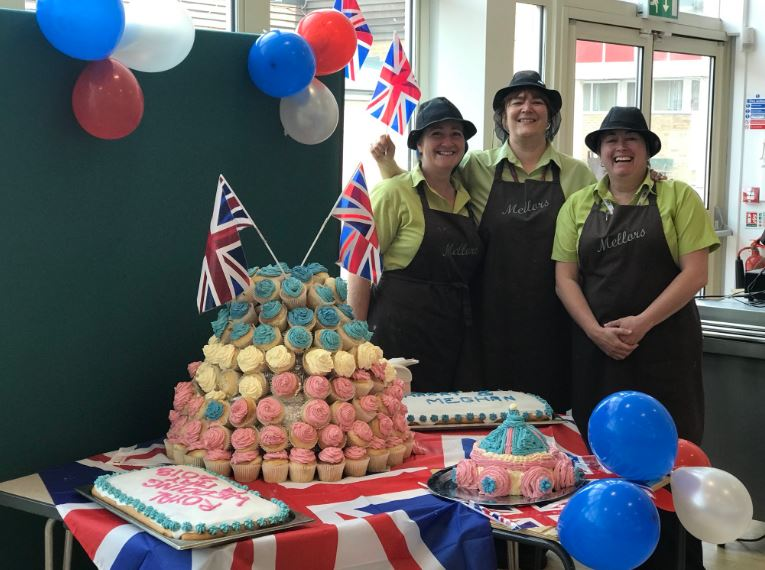 We made plenty of tasty treats so everybody could celebrate the royal wedding!